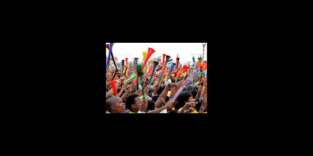 Les critiques étrangères pleuvent sur les vuvuzelas - La Libre