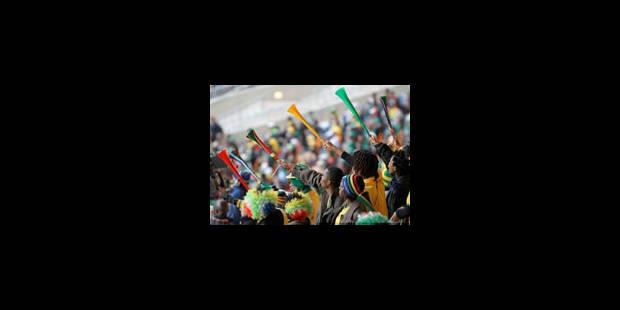 Mondial: la firme de production télé a doublé ses filtres contre les vuvuzelas - La Libre