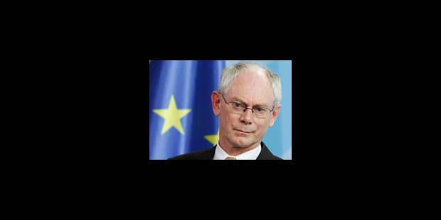 La présidence belge dans l'ombre d'Herman Van Rompuy - La Libre