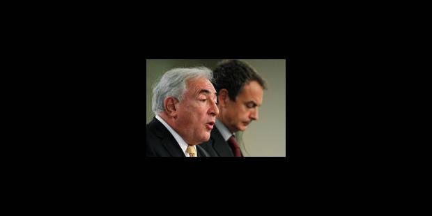 """Strauss-Kahn """"très confiant sur le moyen-long terme"""" - La Libre"""