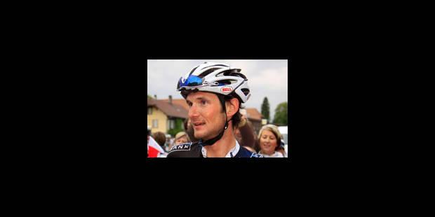 Victoire de Frank Schleck, 12 secondes devant Armstrong - La Libre