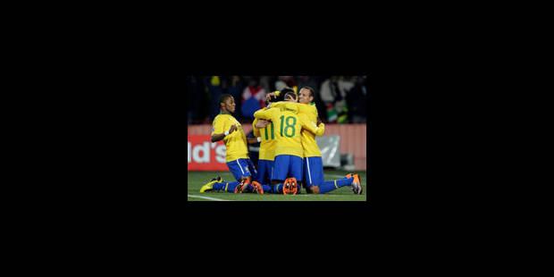Le Brésil se qualifie pour les quarts - La Libre