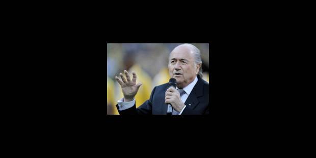 Erreurs d'arbitrage: Blatter s'excuse et reparle de vidéo - La Libre