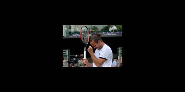Malisse face à Querrey en 16es de finale à Wimbledon - La Libre