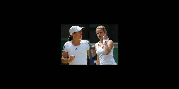 Henin et Clijsters, qualifiées. Wickmayer éliminée - La Libre