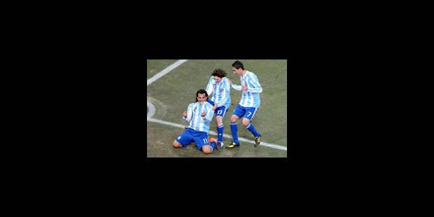 L'Argentine se qualifie pour les quarts - La Libre