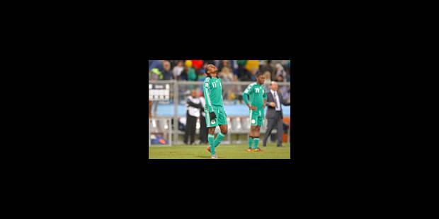 Trop mauvais, les Nigérians sont privés de foot - La Libre