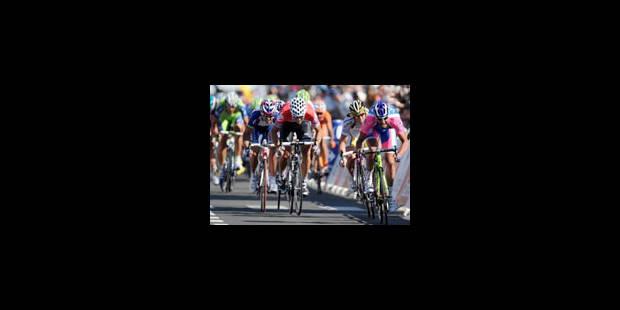 Départ de la deuxième étape Bruxelles-Spa