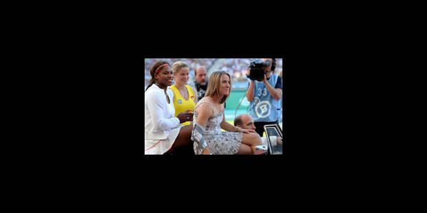 Kim bat Serena devant plus de 35.000 spectateurs - La Libre