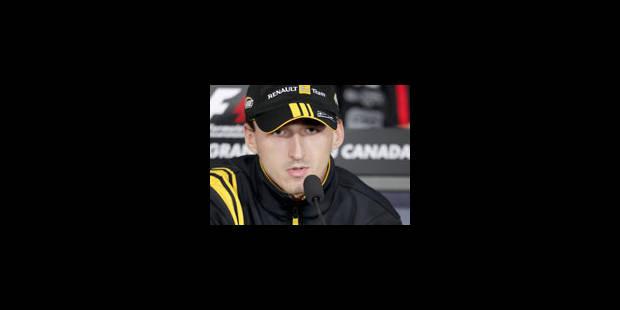 Robert Kubica prolonge chez Renault jusqu'en 2012 - La Libre