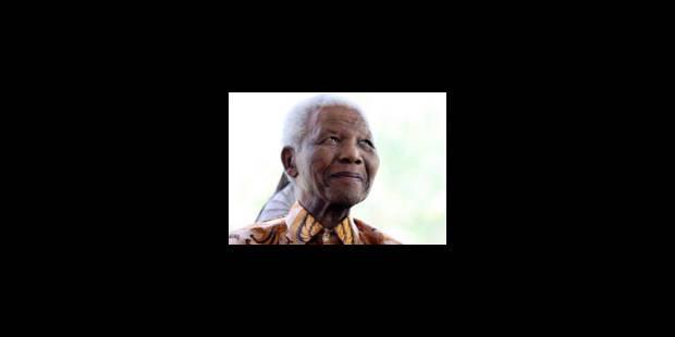 Nelson Mandela assistera à la cérémonie de clôture du Mondial - La Libre