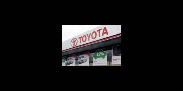 Une enquête disculpe en partie Toyota des accusations d'accidents - La Libre