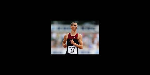 45.22 pour Kevin Borlée en séries du 400 m des championnats de Belgique - La Libre