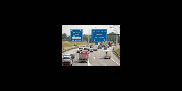 Vacances: le trafic est resté relativement fluide en Belgique - La Libre