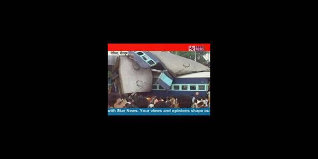 Inde: au moins 57 morts dans une collision ferroviaire - La Libre
