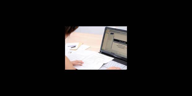 Tax-on-web bat le record de déclarations en ligne - La Libre