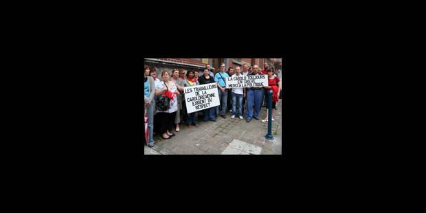 Fin de la grève à la Carolorégienne - La Libre