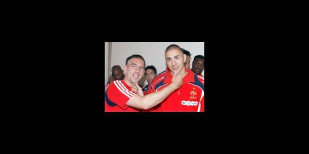 Laurent Blanc n'exclut pas de sélectionner Ribéry et Benzema - La Libre