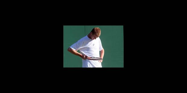 Kristof Vliegen battu dès le 1er tour au tournoi de Los Angeles - La Libre