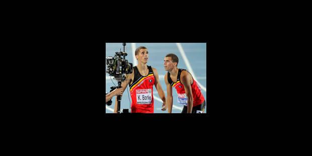 Euro: La Belgique en finale du 4x400 m messieurs - La Libre