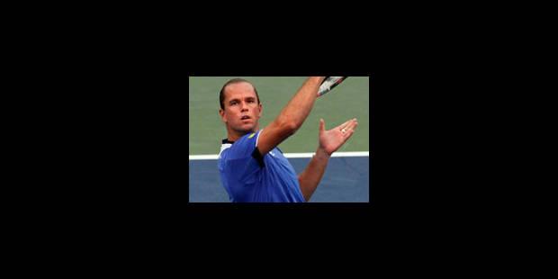 Xavier Malisse au 2e tour du tournoi de Washington - La Libre