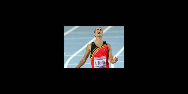Kevin Borlée champion d'Europe - La Libre