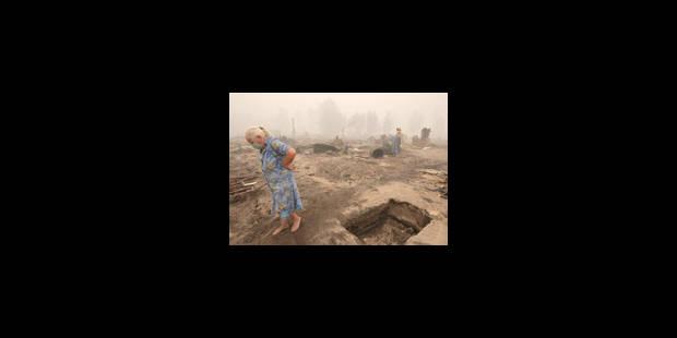 L'économie russe talonnée par la sécheresse et le feu - La Libre
