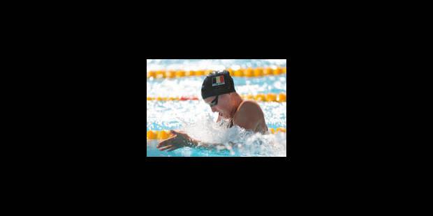 Le relais du 4 x 100 m quatre nages dames en finale