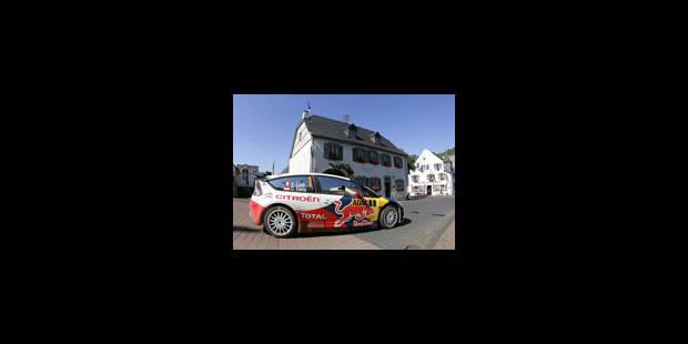 Rallye: Huitième victoire de Sébastien Loeb en Allemagne - La Libre