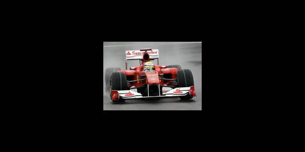 GP de Belgique : incident pendant les deuxièmes essais libres - La Libre