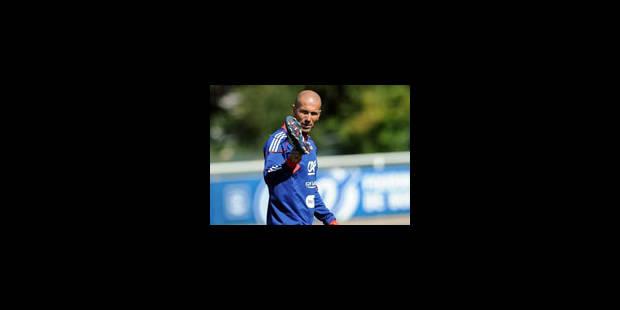 """Zidane aux Bleus: """"Le plus important c'est de renouer avec la victoire"""" - La Libre"""