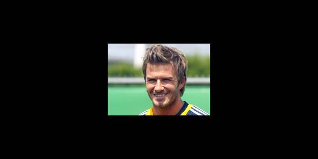 Beckham n'a pas tiré un trait sur l'équipe d'Angleterre - La Libre