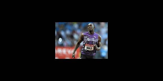 Bolt ambitionne de courir le 100m en 9 sec 40 - La Libre
