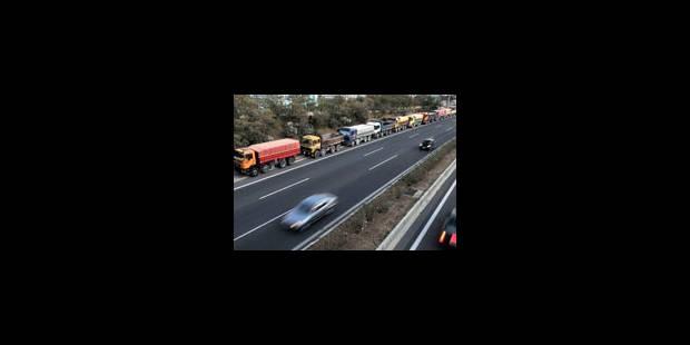 Sécurité et travaux routiers en Europe: Bruxelles classée 1ère - La Libre