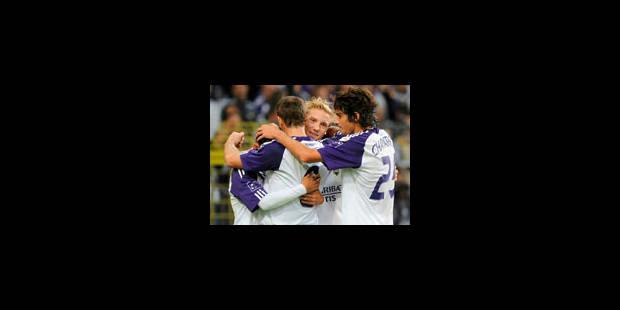 Anderlecht bat Courtrai et prend la 2e place - La Libre