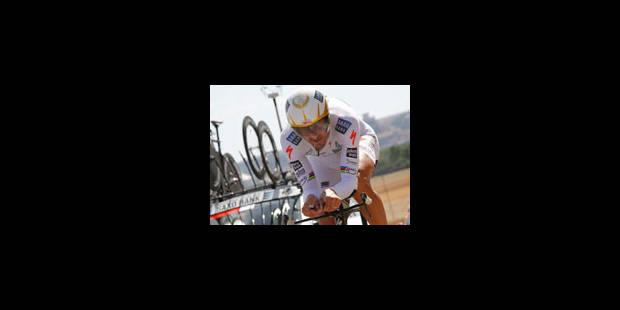 19e étape: abandon de Cancellara - La Libre