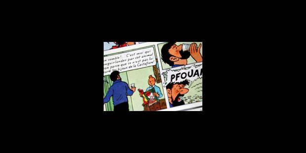Une double planche d'Hergé adjugée à 246.000 euros - La Libre