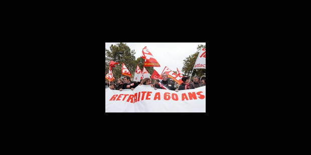 Retraites: 850.000 manifestants selon la police, près de 3 millions selon la CGT - La Libre