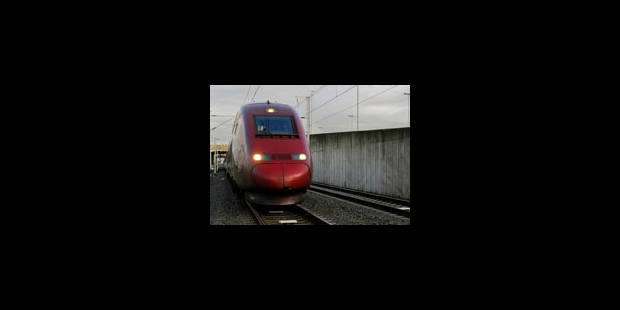 Fortes perturbations des Thalys demain - La Libre