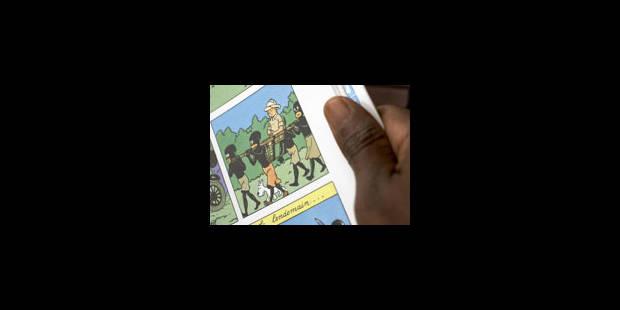 """La ministre congolaise de la Culture défend """"Tintin au Congo"""""""