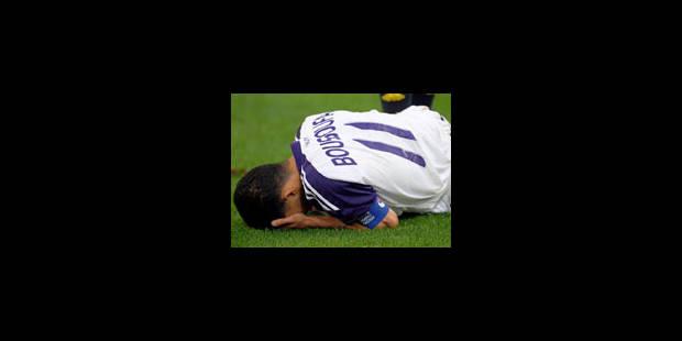 Boussoufa, blessé à la cheville, absent contre le Club de Bruges - La Libre