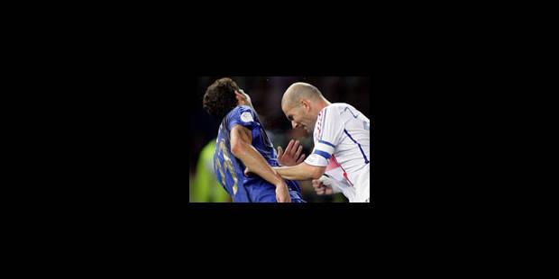 Zidane et Materazzi ont fait la paix à Milan