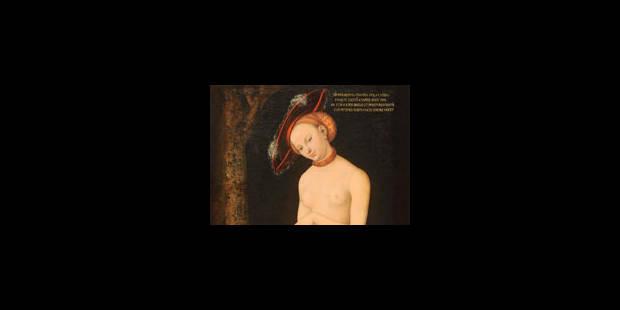Pour Cranach, suivez Max - La Libre