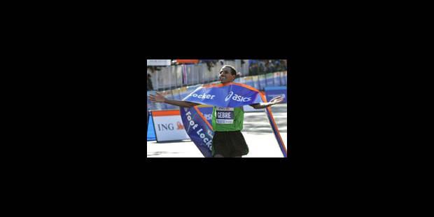 Gebre Gebremariam remporte la course - La Libre