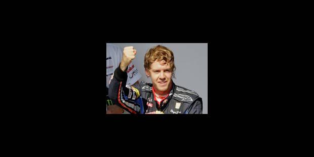 Sebastian Vettel sur le toit du monde ! - La Libre