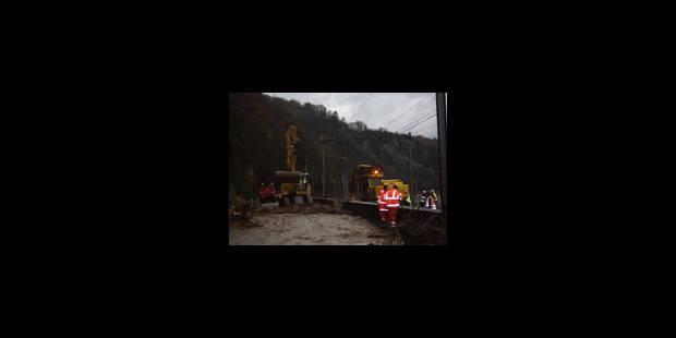 Des torrents de boue à Bouvignes - La Libre