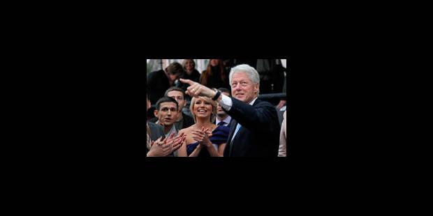 Bill Clinton fait ses premiers pas au cinéma - La Libre