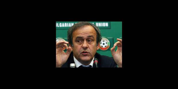Platini suggère de changer le mode d'attribution de la Coupe du monde - La Libre