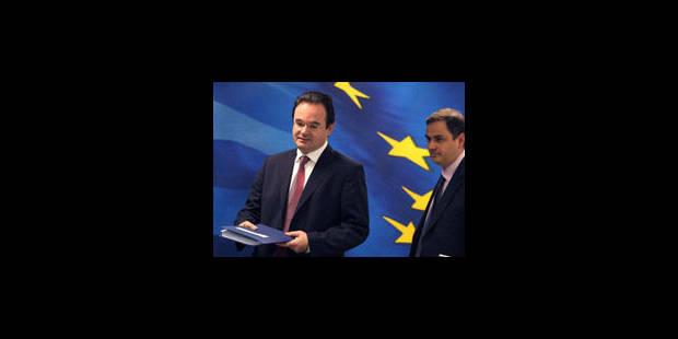 Grèce: le FMI et l'UE n'excluent pas un nouveau prêt - La Libre