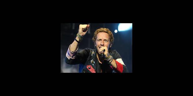 Coldplay et Iron Maiden au festival Rock Werchter 2011 - La Libre